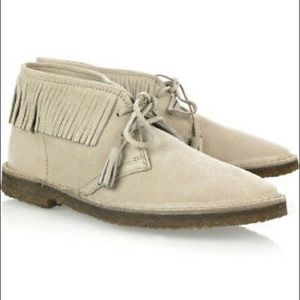 J. Crew Fringed Macalister Suede Boot NIB